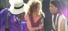 Video – Nikka Costa sings with Prince & Larry Graham
