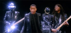 "Video: Daft Punk, Pharrell Williams And Nile Rodger ""Get Lucky"""