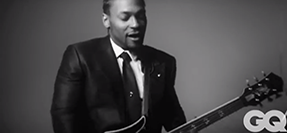 D'Angelo Plugs In Behind the Scenes Of His GQ Shoot